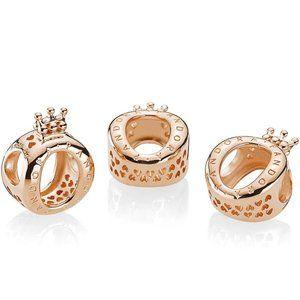 Pandora Rose Crown O Charm